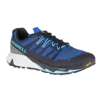 Merrell AGILITY PEAK FLEX 3 - Trail Shoes - Men's - colbalt