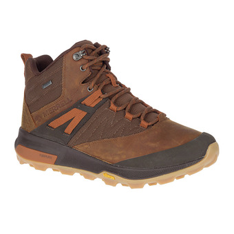 Merrell ZION MID GTX - Hiking Shoes - Men's - toffee