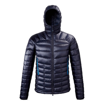 Millet TRILOGY DIAMOND DOWN HOODIE - Down Jacket - Men's - sapphire