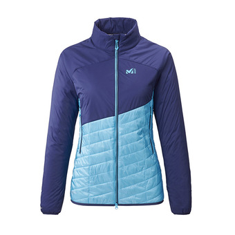 Millet ELEVATION AIRLOFT - Chaqueta híbrida mujer light blue/blue depths