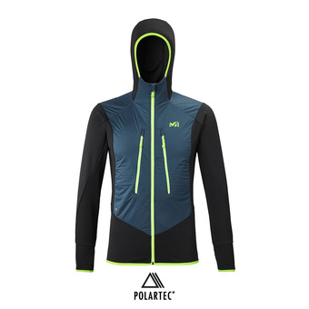 Millet EXTREME RUTOR ALPHA COMPO HOODIE - Giacca Uomo orion blue/nero