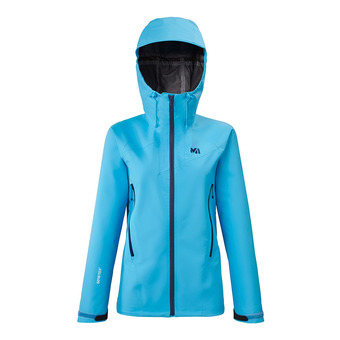 Millet KAMET LIGHT GTX - Jacket - Women's - light blue