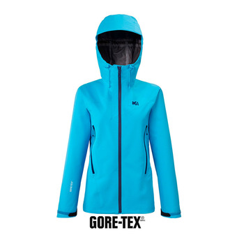 Millet KAMET LIGHT GTX - Chaqueta mujer light blue