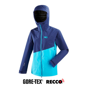 Millet ELEVATION S GTX - Chaqueta mujer light blue/blue depths