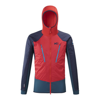Millet TRILOGY HYBRID ALPHA - Veste Homme indian/rouge