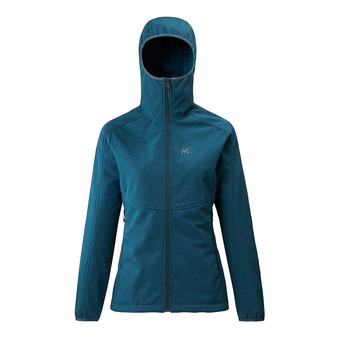 Millet SHUKSAN HIGHLOFT II HOODIE - Jacket - Women's - h orion blue