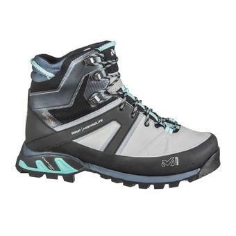 Millet HIGHROUTE GTX - Chaussures randonnée Femme high rise/aruba blue