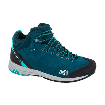 Millet AMURI LEATHER MID DRYEDGE - Approach Shoes - Women's - orion blue/indian