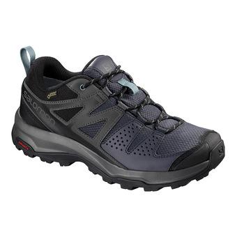 Salomon X RADIANT GTX - Zapatillas de senderismo mujer gy/magnet/trell