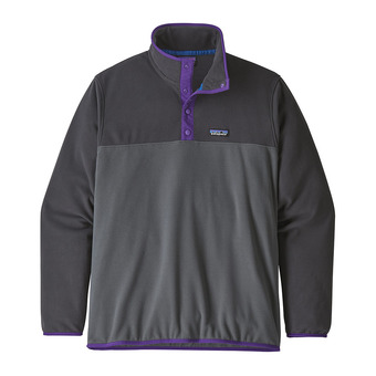 Patagonia MICRO D SNAP-T - Maglione Uomo forge grey