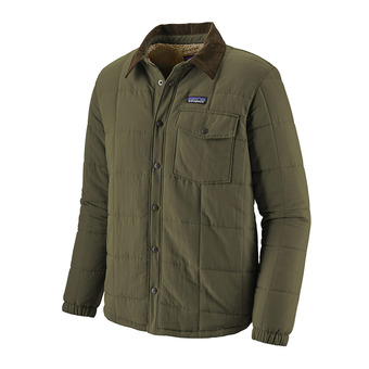 Patagonia ISTHMUS QUILTED - Veste Homme industrial green
