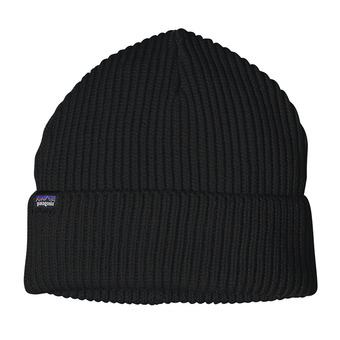 Patagonia FISHERMANS ROLLED - Beanie - black
