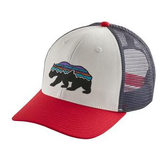 Fitz Roy Bear Trucker Hat Unisexe White