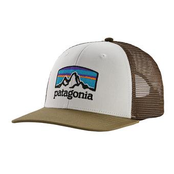 Patagonia FITZ ROY HORIZONS - Cappellino white sage khaki