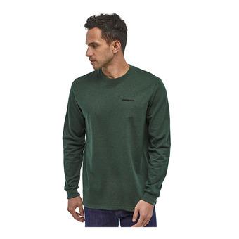 Patagonia P-6 LOGO RESPONSIBILI - T-shirt Uomo alder green