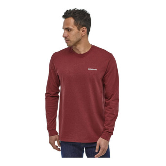 Patagonia P-6 LOGO RESPONSIBILI - Camiseta hombre oxide red
