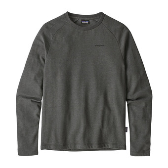 Patagonia P-6 LOGO LIGHTWEIGHT CREW - Sweat Homme forge grey