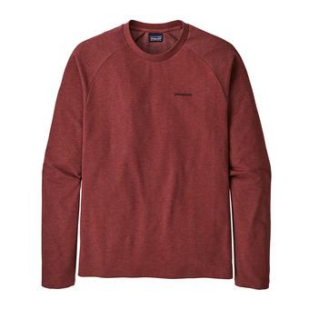 M's P-6 Logo LW Crew Sweatshirt Homme Oxide Red