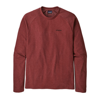 Patagonia P-6 LOGO LIGHTWEIGHT CREW - Sweatshirt - Men's - oxide red