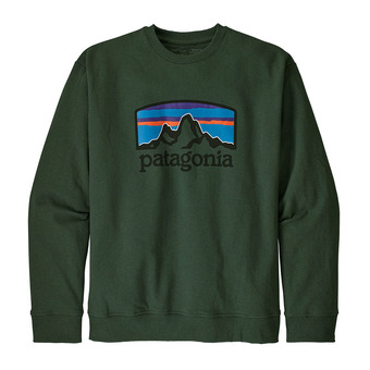 Patagonia FITZ ROY HORIZONS UPRISAL CREW - Sweat Homme alder green