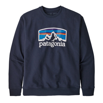 Patagonia FITZ ROY HORIZONS UPRISAL CREW - Sudadera hombre classic navy