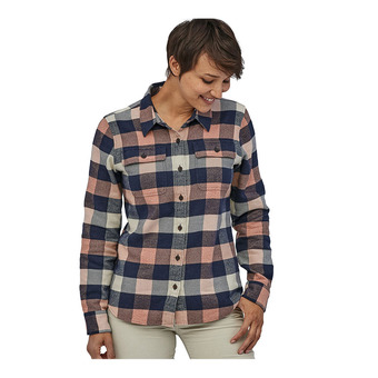 Patagonia FJORD FLANNEL - Camicia Donna upriver/century pink
