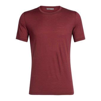 Icebreaker TECH LITE - Tee-shirt Homme cabernet