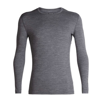 Icebreaker 200 OASIS - Base Layer - Men's - gritstone hthr