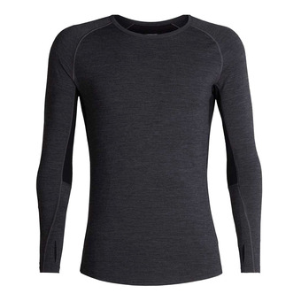 Icebreaker 200 ZONE - Base Layer - Men's - jet hthr/black
