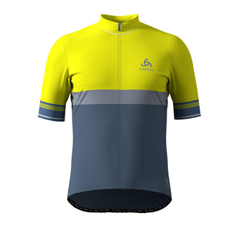 Maillot zip integral FUJIN CERAM Homme safety yellow (neon) - bering sea