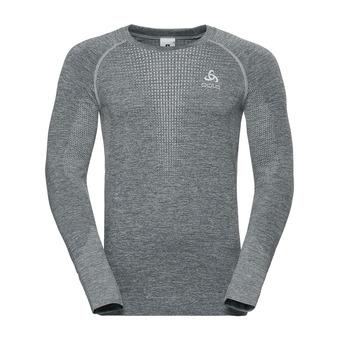 Odlo IRBIS WARM - Camiseta hombre odlo silver grey/odlo steel grey