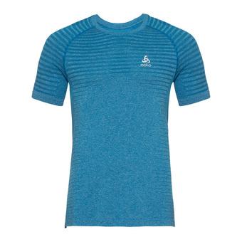 Odlo ELEMENT - Camiseta hombre mykonos blue melange