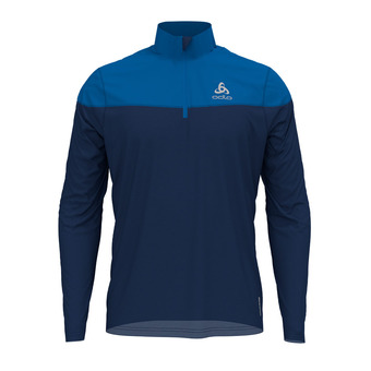 Odlo CERAMIWARM ELEMENT - Sudadera hombre estate blue/directoire blue