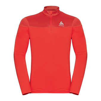 Odlo CERAMIWARM ELEMENT - Sweat Homme poinciana