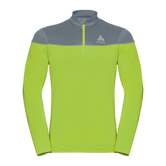Pull 1/2 zip CERAMIWARM ELEMENT Homme safety yellow (neon) - bering sea