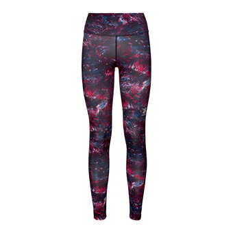 Odlo ELEMENT LIGHT AOP - Collant Femme cerise multicolour