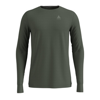 T-shirt ML NATURAL 100% MERINO Homme climbing ivy - grey melange