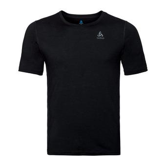 T-shirt MC NATURAL 100% MERINO Homme black - black