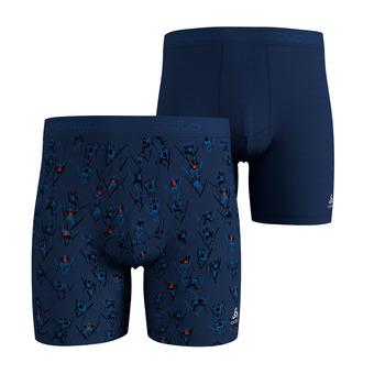 Odlo SUMMER SPLASH 2 - Boxer x2 Homme estate blue/country aop/estate blue