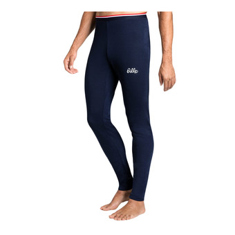 Odlo ACTIVE WARM - Mallas hombre diving navy