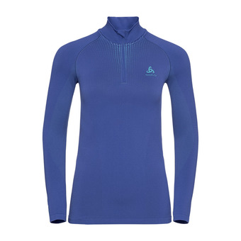 Odlo PERFORMANCE WARM - Sous-couche Femme clematis blue/niagara