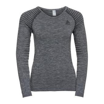 T-shirt ML PERFORMANCE LIGHT Femme grey melange