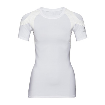 Odlo ACTIVE SPINE LIGHT - Camiseta térmica mujer white