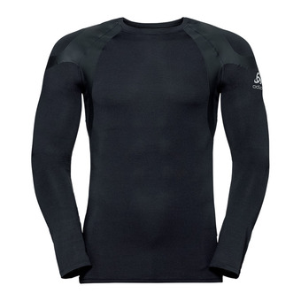 T-shirt ML ACTIVE SPINE WARM LIGHT Homme black