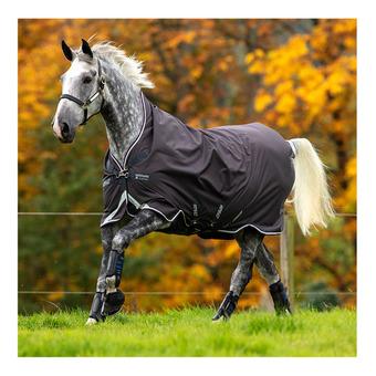 Horseware AMIGO BRAVO - Coperta da paddock 400g excal/plum/white/silver