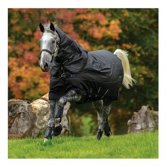 Horseware AMIGO BRAVO 12 REFLECTECH PLUS - Couverture de paddock 250g black/refl/black