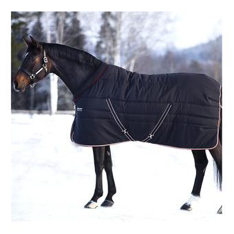 Horseware RAMBO COSY STABLE - Manta de cuadra 400g black tan oran black