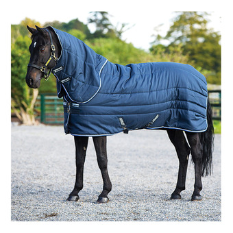 Horseware AMIGO STABLE VARI LAYER PLUS - Coperta da box 450g navy/blue/strong blue/black