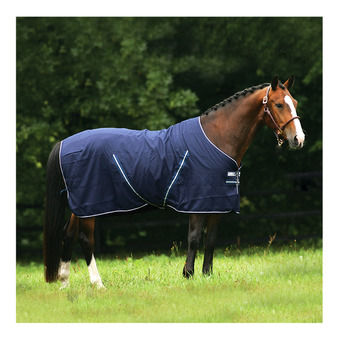 Horseware RAMBO STABLE SHEET - Manta de cuadra navy/navy/white