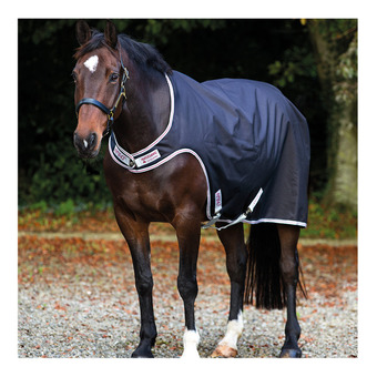 Horseware AMIGO WALKER - Coprireni da camminata 100g black/silver/red